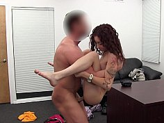 Impressive Backroom Sex with Wild Fat Cock & Slutty Babe