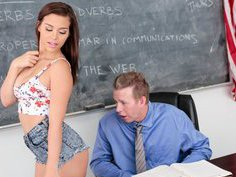 Slutty student aiming for the A plus