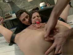 Bobbi Starr Clamps Nurse Bondage Anal DP Fuck P1 (More on TeenPornMaster)