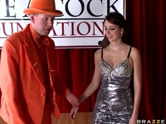Criss Strokes and Mark Wood chase their blow-jobbing female friend