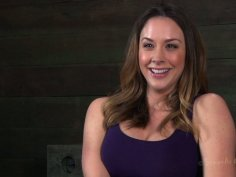 Salty whore Chanel Preston gets clapped in BDSM sex video