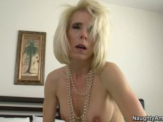 Kinky lady Jodie Stacks enjoys getting her mature pussy fucked regularly