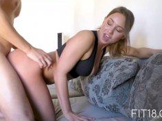 Casting of 18 year old Dutch bellydancer girl