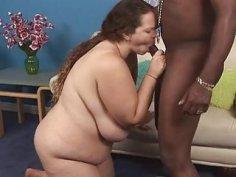 Interracial 3some sex