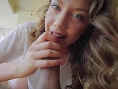 Amazing babe Elena Koshka loves cock