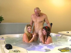 Paid for having sex in jacuzzi