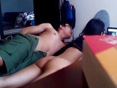Vietnamese gal gets secretly filmed getting smashed by her boyfriend