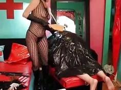 Femdom Starla Dominates Her Human Garbage